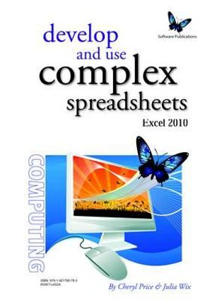 Cover of Develop and Use Complex Spreadsheets