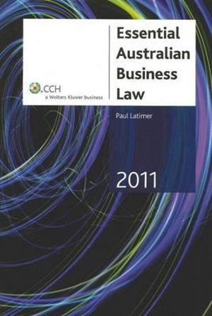 Cover of Essential Australian Business Law
