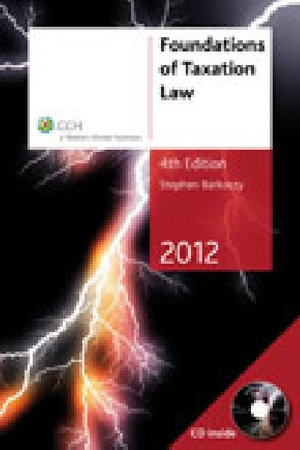 Cover of Foundations of Taxation Law 2012 - 4th Edition