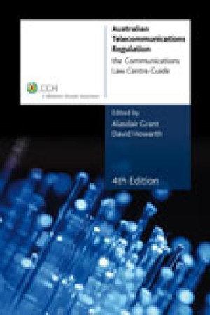 Cover of Australian Telecommunications Regulation