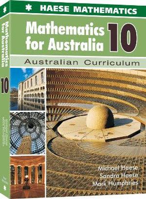 Cover of Mathematics for Australia 10