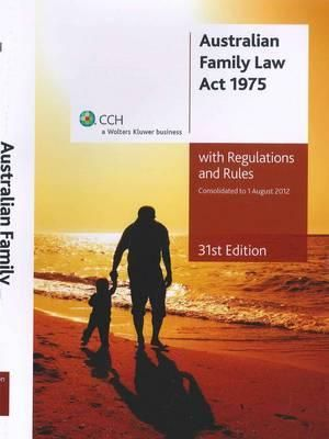 Cover of Australian Family Law Act 1975