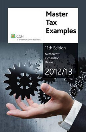 Cover of Master Tax Examples 2012/2013