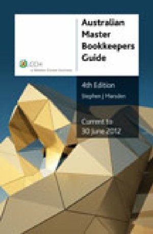 Cover of Australian Master Bookkeepers Guide - 4th Edition