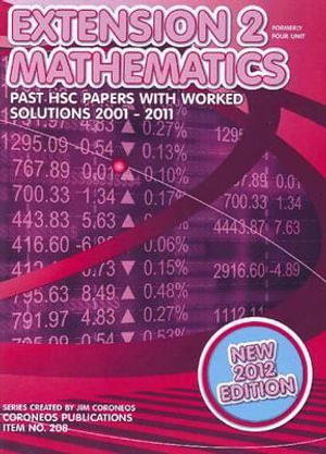 Cover of Extension 2 Mathematics