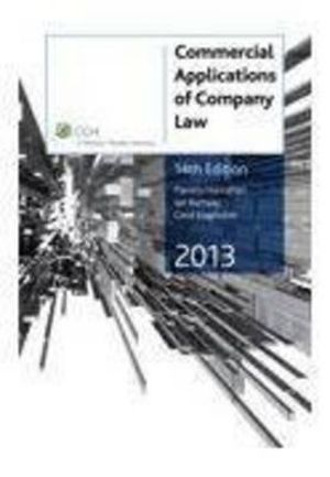 Cover of Commercial Applications of Company Law 2013 - 14th Edition