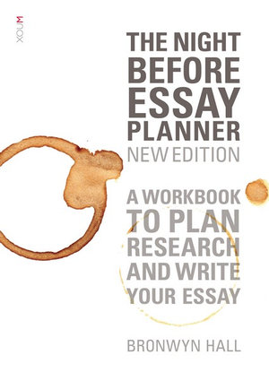 Cover of The Night Before Essay Planner