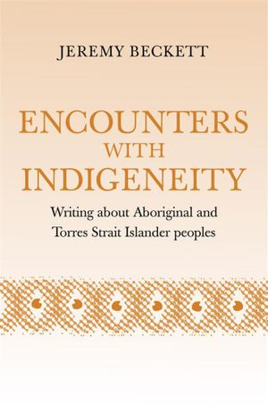 Cover of Encounters with Indigeneity