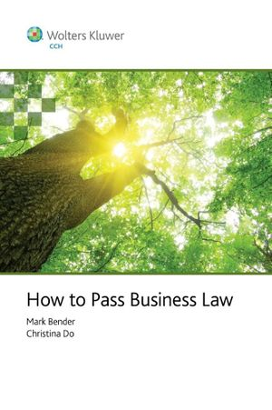 Cover of How to Pass Business Law