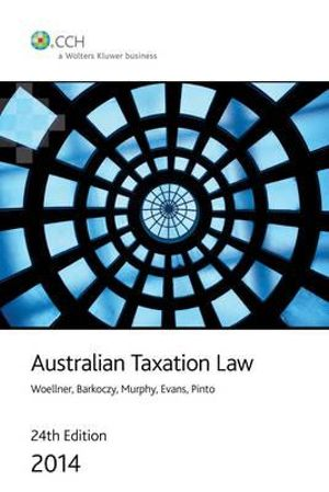 Cover of Australian Taxation Law 2014 - 24th Edition
