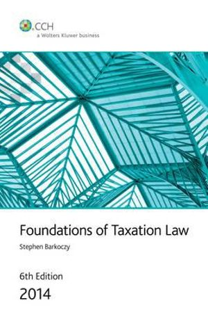 Cover of Foundations of Taxation Law 2014