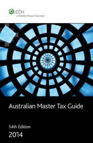 Cover of Australian Master Tax Guide 2014 - 54th Edition