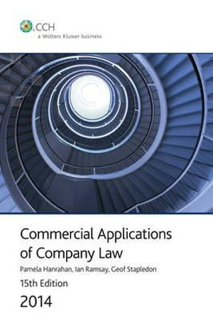 Cover of Commercial Applications of Company Law 2012
