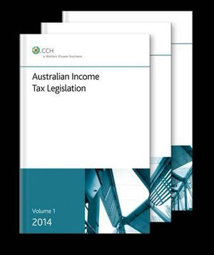 Cover of Australian Income Tax Legislation