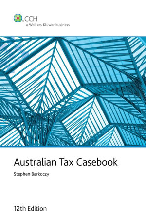 Cover of Australian Tax Casebook