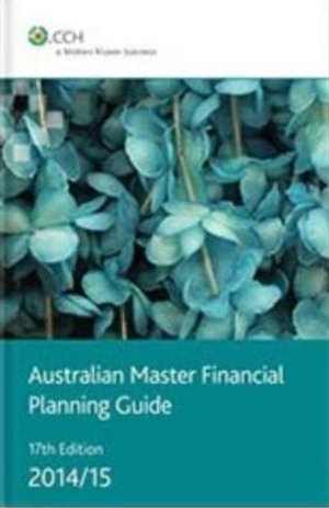 Cover of Australian Master Financial Planning Guide 2014/15