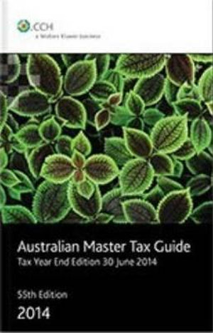 Cover of Australian Master Tax Guide