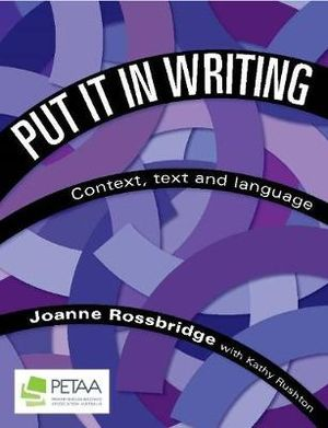 Cover of Put it in Writing