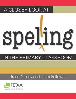 Cover of A Closer Look at Spelling