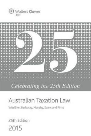 Cover of Australian Taxation Law 2015