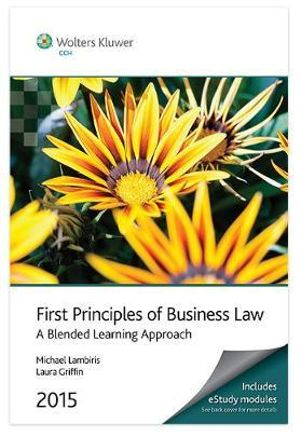 Cover of First Principles of Business Law 2015