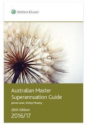 Cover of Australian Master Superannuation Guide 2016/17