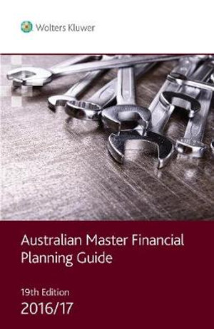 Cover of Australian Master Financial Planning Guide 2016/17