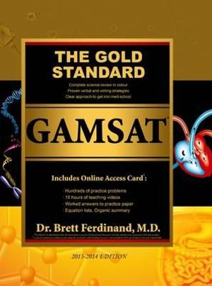 Cover of The Gold Standard Gamsat with Online Card (UK, Ireland)