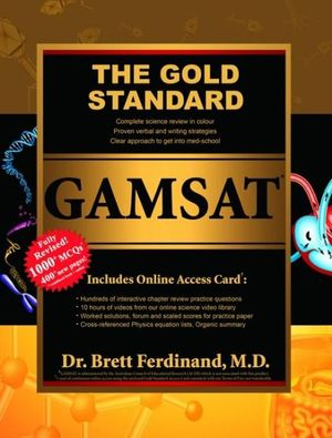 Cover of The Gold Standard Gamsat