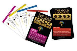 Cover of The Gold Standard Basic Knowledge Science Flashcards