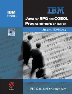 Cover of Java for RPG and COBOL Programmers on ISeries