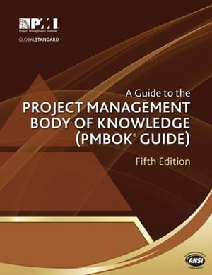 Cover of A Guide to the Project Management Body of Knowledge