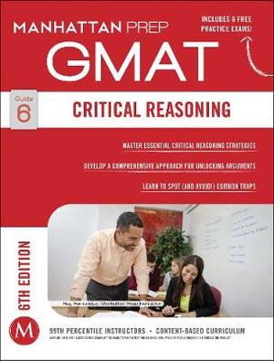 Cover of GMAT Critical Reasoning