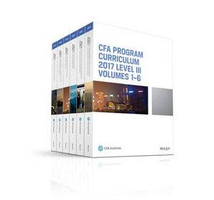 Cover of CFA Program Curriculum 2017 Level III