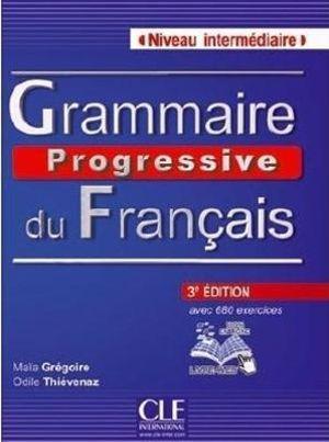 Cover of Grammaire progressive du francais. Niveau intermediaire. Con espansione online. Per le Scuole superiori