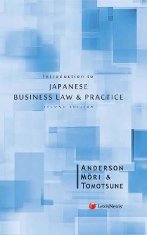 Cover of Introduction to Japanese Business Law and Practice