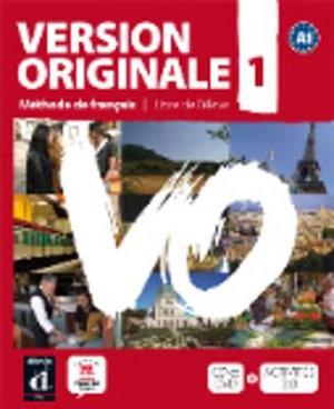 Cover of Version Originale A1 - Libro del alumno + CD + DVD