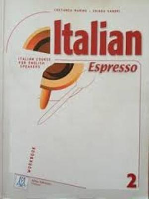 Cover of Italian espresso