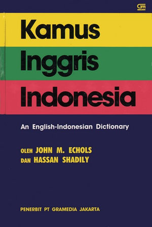 Cover of English-Indonesian Dictionary