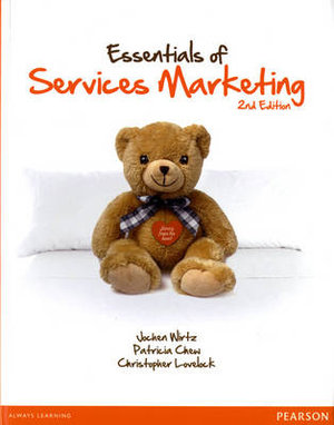 Cover of Essentials of Services Marketing